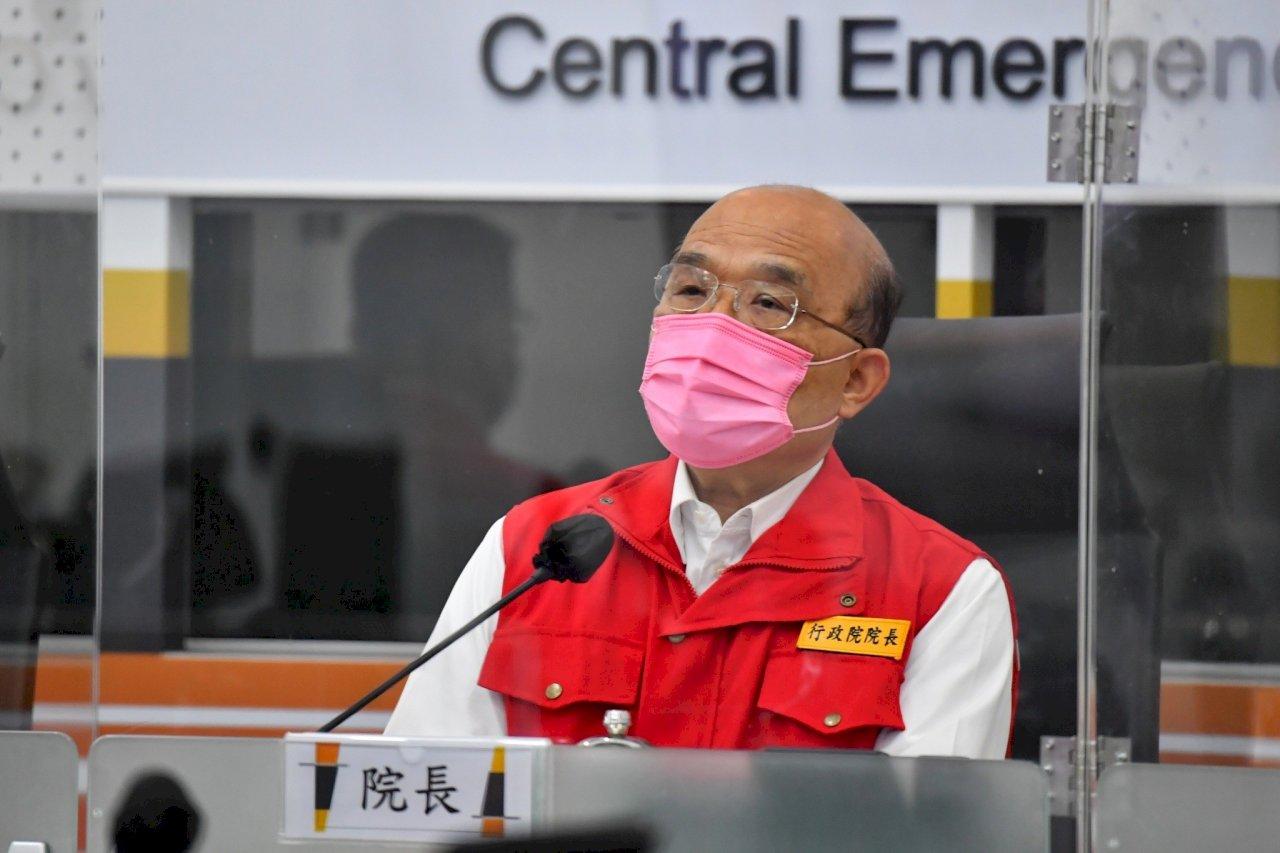 蘇貞昌:端午連假不會延後但呼籲民眾勿返鄉移動
