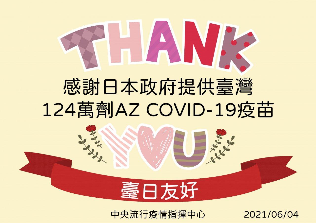 日贈台124萬劑疫苗抵台  陳時中感謝:儘速完成封緘檢驗展開施打