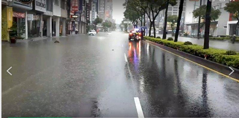 台中以南豪大雨  高雄積淹水  北北基等7縣市慎防高溫