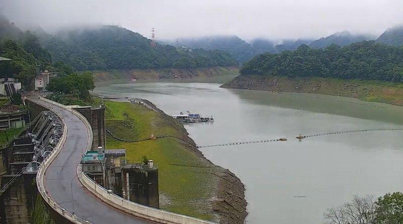 降雨水庫進帳1.9億噸 約全台2週用水量