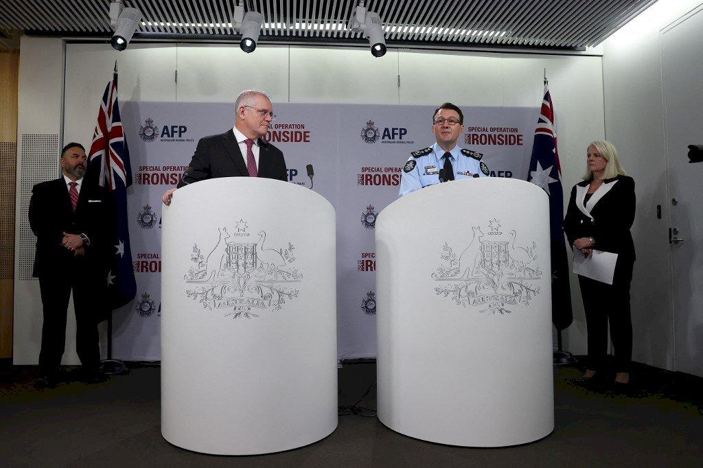 美澳高科技打擊組織犯罪 全球逮捕800多人
