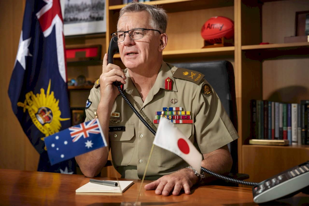 日自衛隊抵澳洲達爾文 將展開美澳日聯合軍演