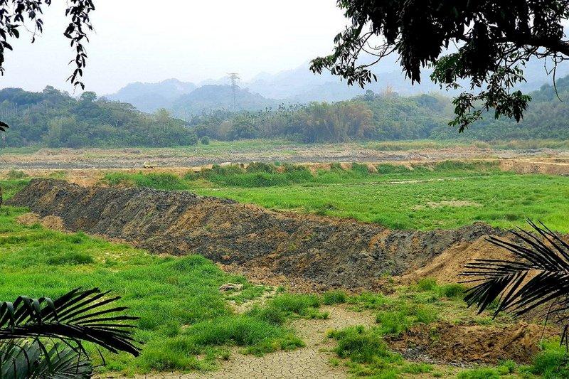 空庫清淤逾半年 白河水庫趁雨勢重新開始蓄水