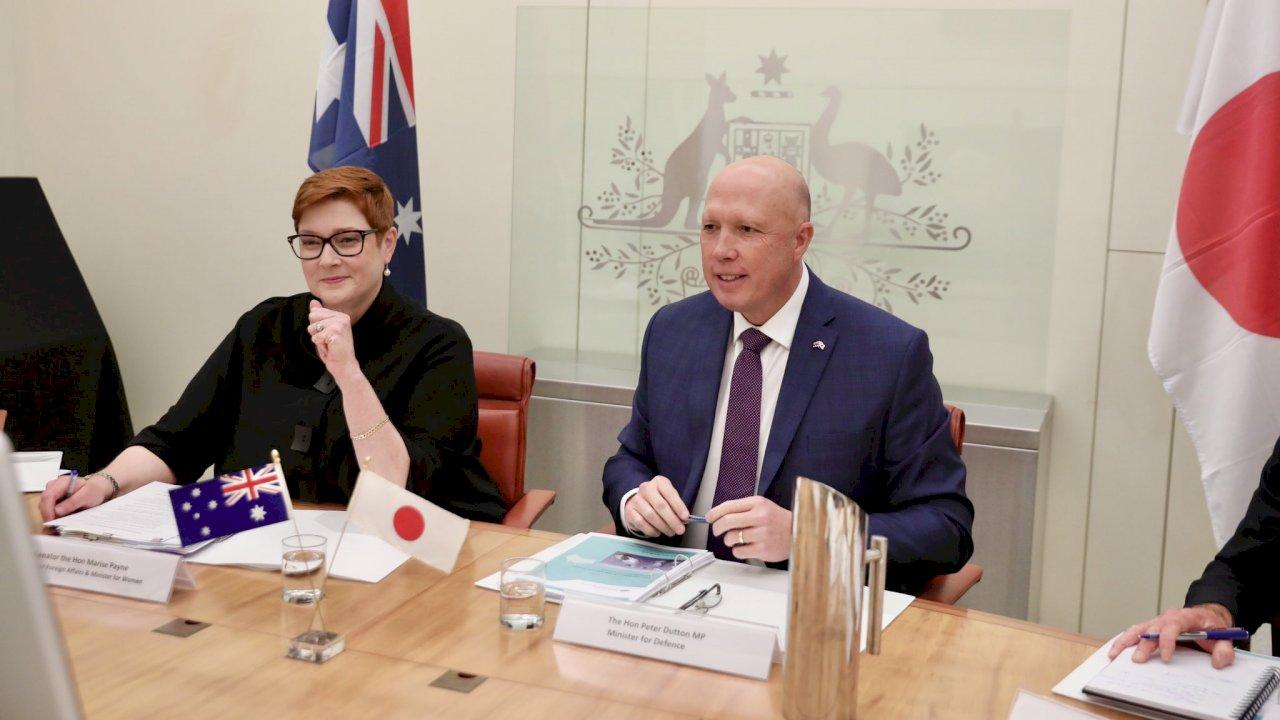 日澳關切台海和平穩定 外交部:持續緊密合作