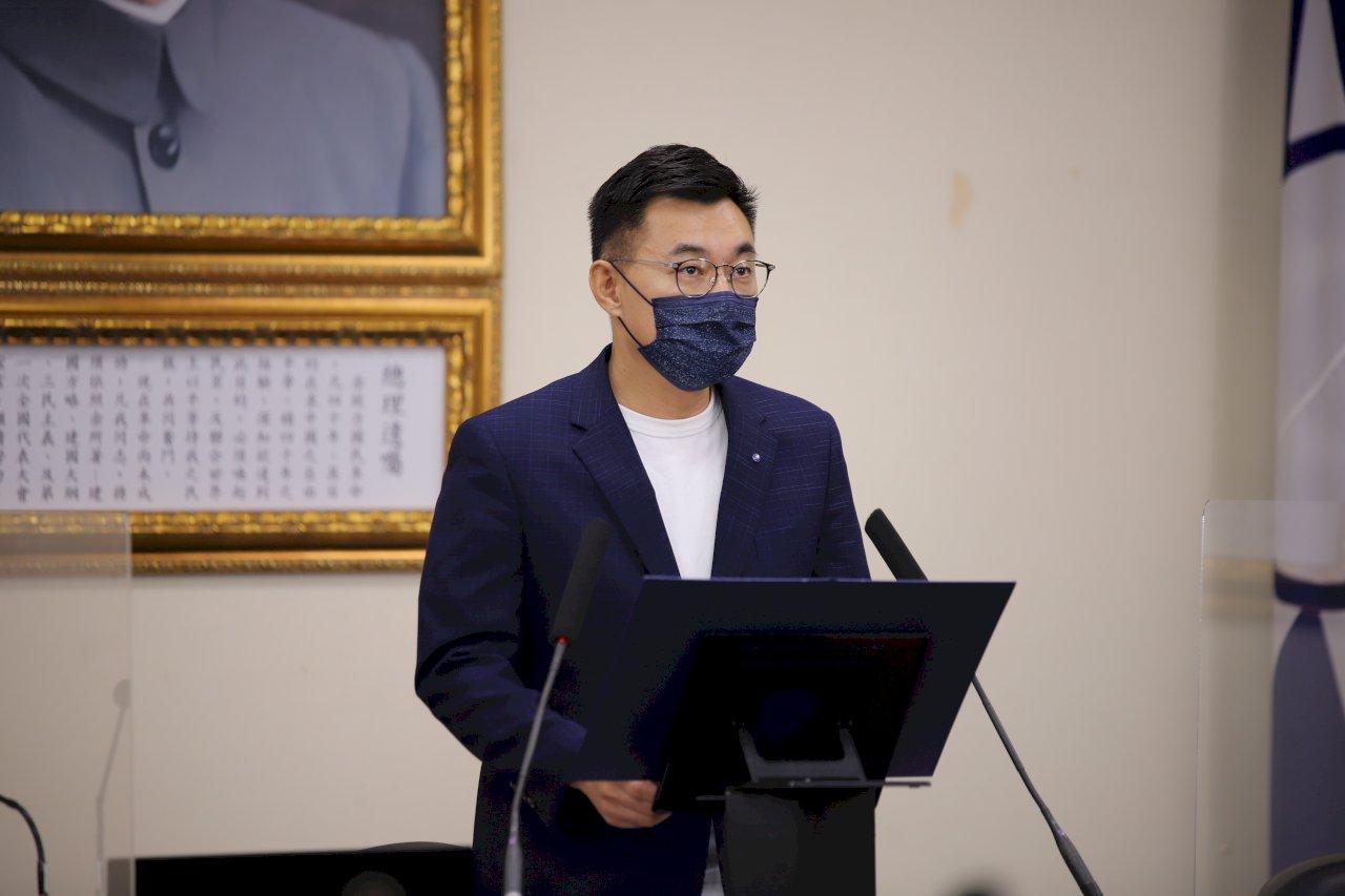 江啟臣:盼蔡總統以人命為考量 調整防疫隊形