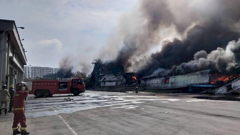 中火今晨火警 台電:運煤輸送帶起火