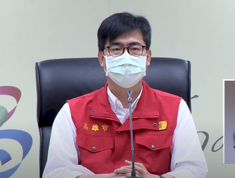 長者疫苗開打零星狀況 陳其邁致歉:所有責任市長負責