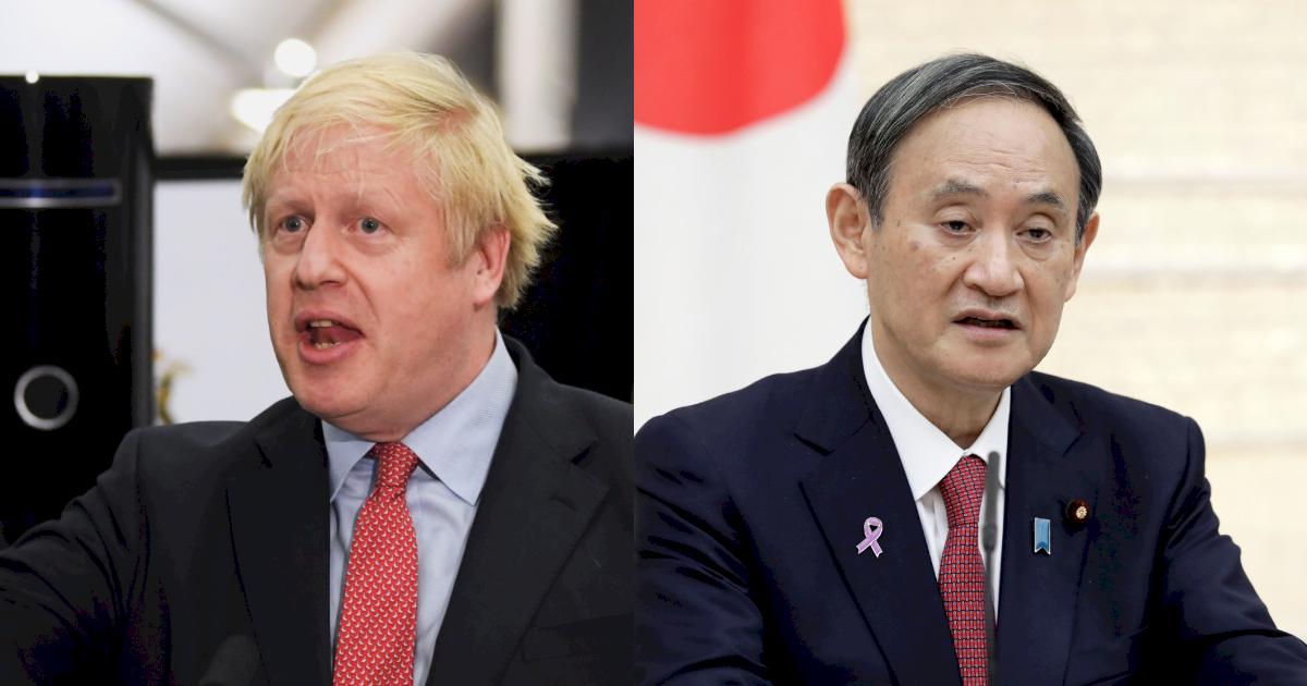 強生與菅義偉G7場邊會面 力挺東京奧運舉行