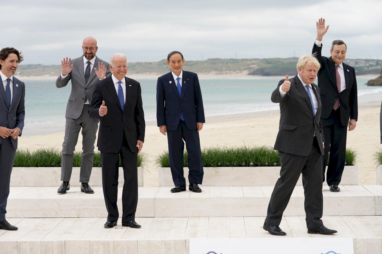 G7將展現團結抗衡中國 推出新全球基礎建設計畫