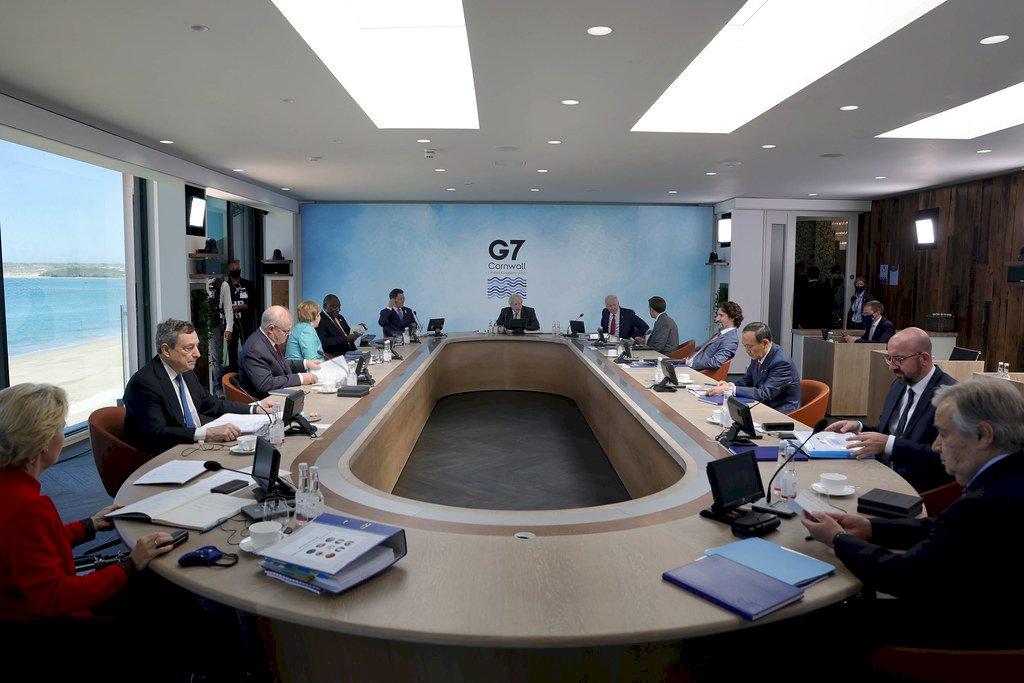 繼參院一致挺台 日相菅義偉G7再挺台灣參與WHA