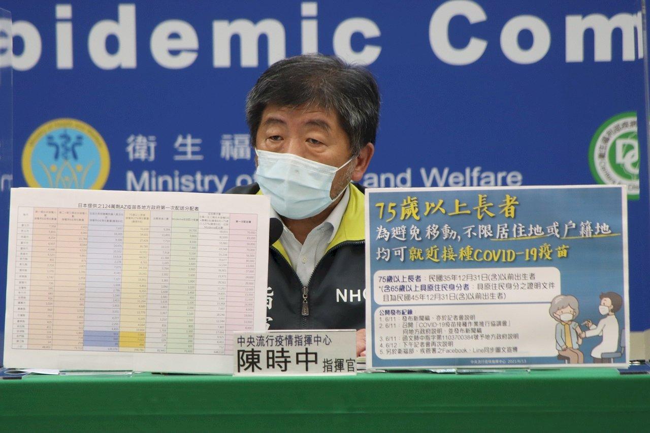 上海復星稱擁有BNT大中華區代理權  陳時中尊重盼勿干擾台購買疫苗
