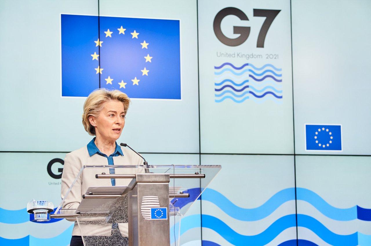 歐盟訂目標 年底前出口7億劑疫苗