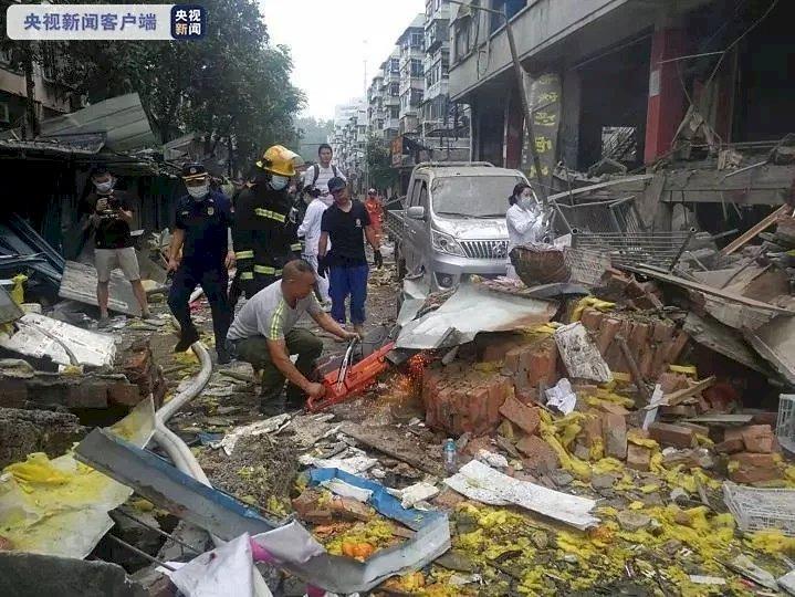 湖北十堰嚴重氣爆炸毀市場 已致11死37重傷