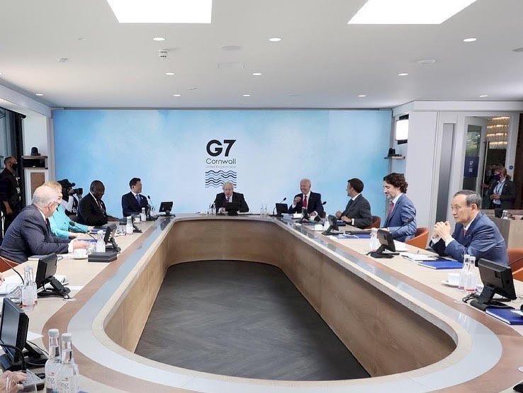 日首相G7挺台 外交部:感謝並持續深化台日合作
