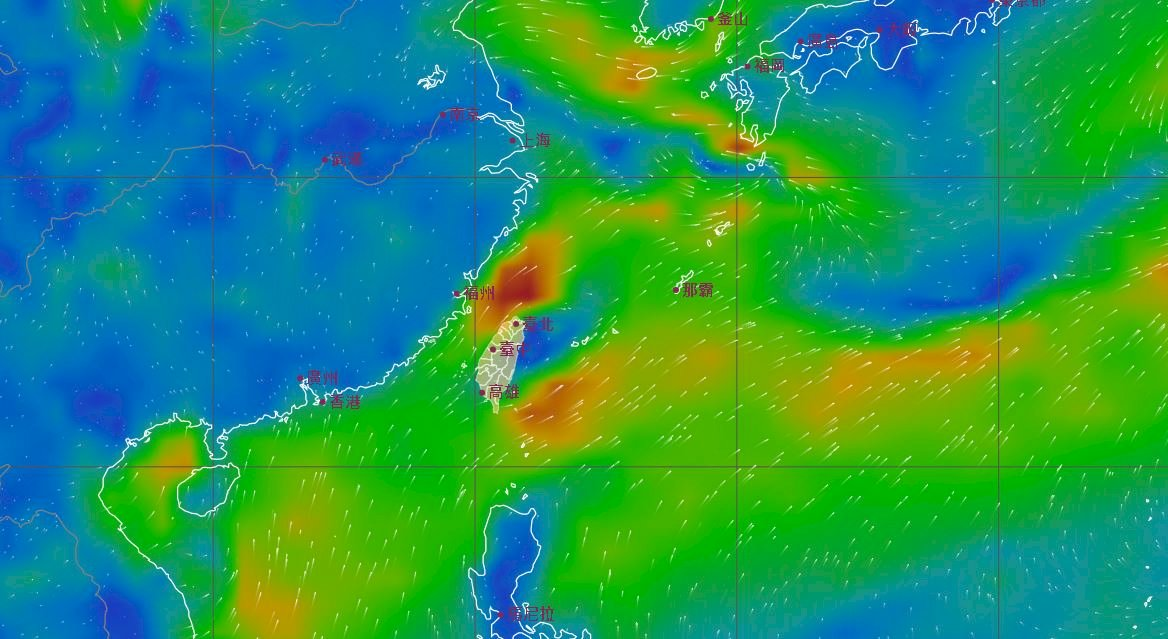 今晚風向要變了 未來一周中南部可望普降甘霖