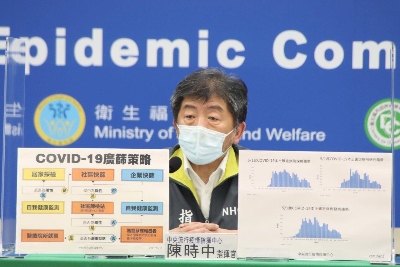 台灣汙水監測發現兩處含COVID-19病毒 陳時中:進一步分區檢驗