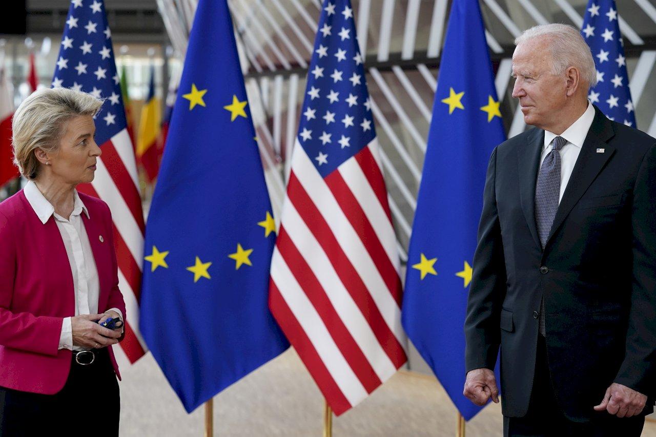 歐盟美國領袖峰會公報 提台海和平重要性