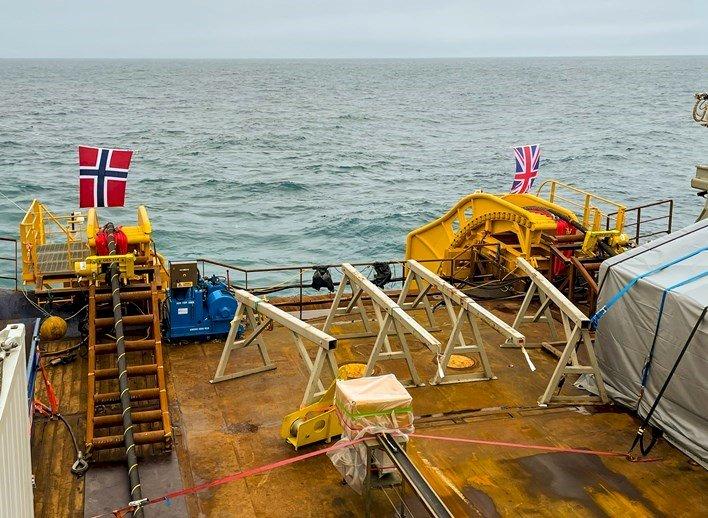 世界最長海底電力電纜 720公里連貫英國挪威
