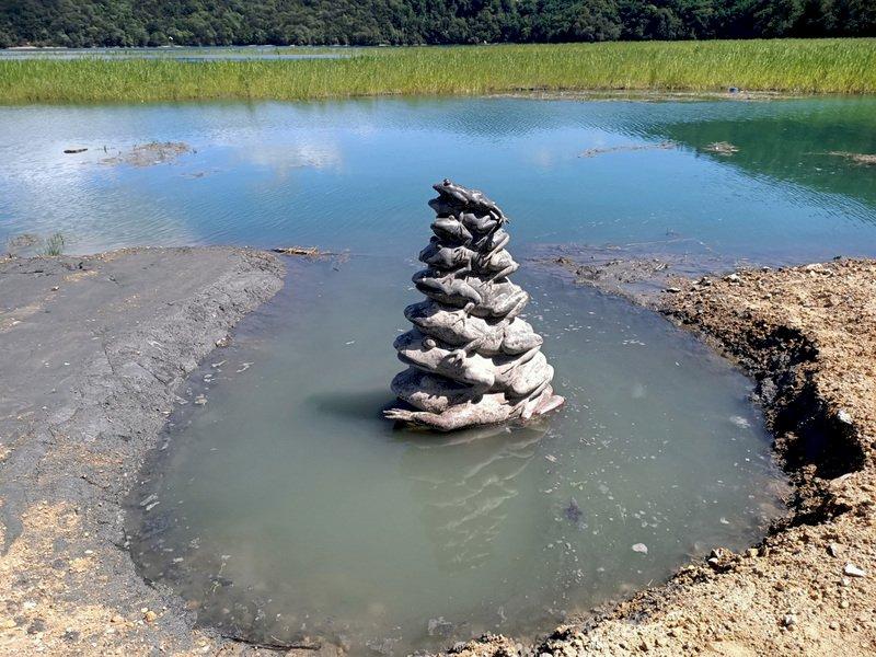 水位持續升高!日月潭九蛙終於喝到水了(影音)