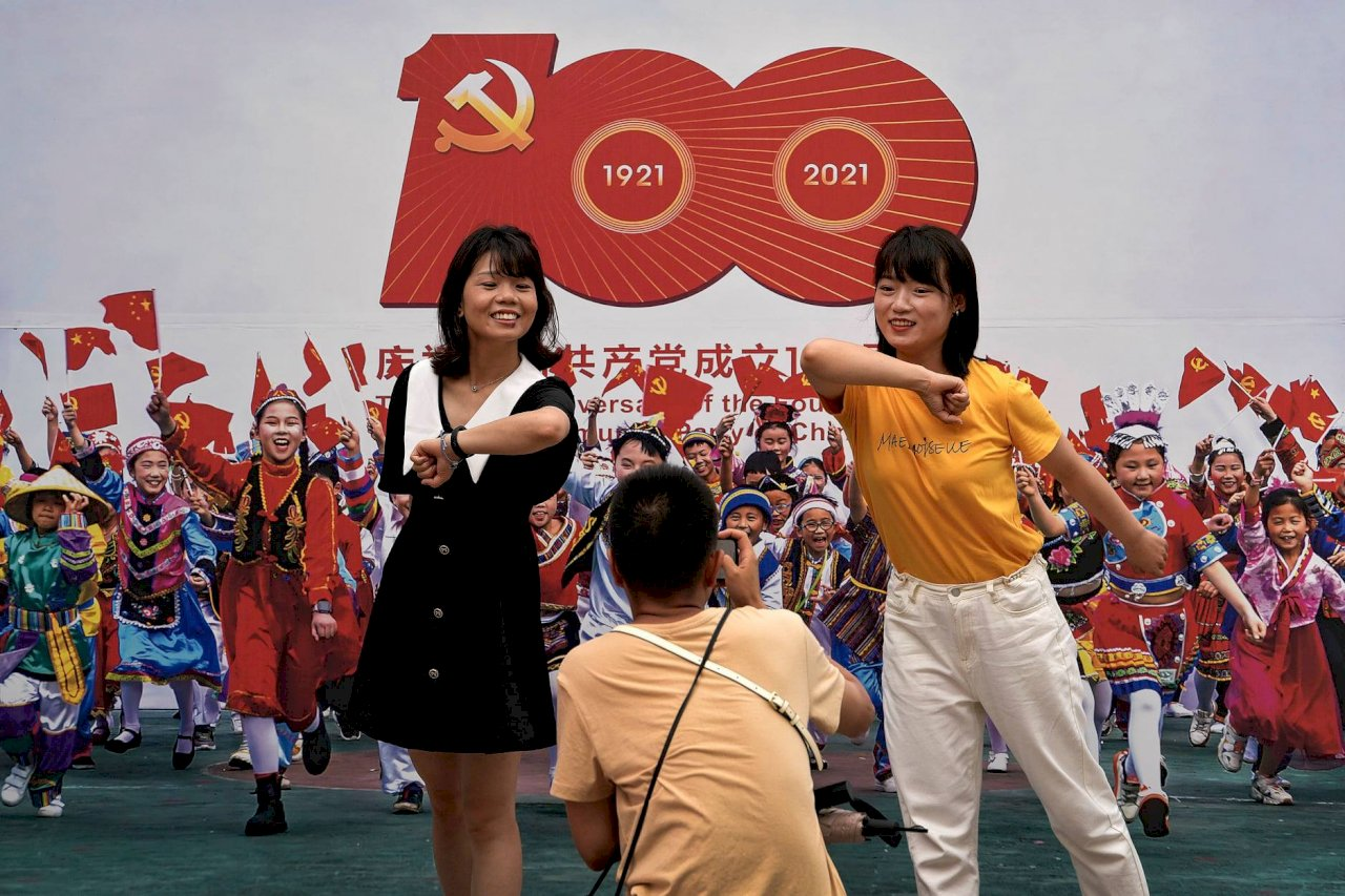 中共建黨百年 歐洲議員批評威脅台灣侵害人權