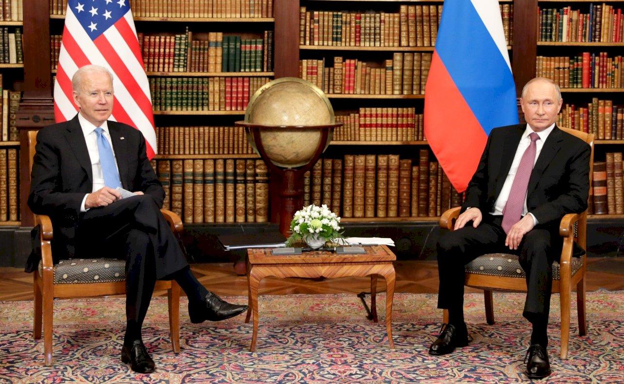 拜登與蒲亭首次峰會結束 兩人都稱對話正面