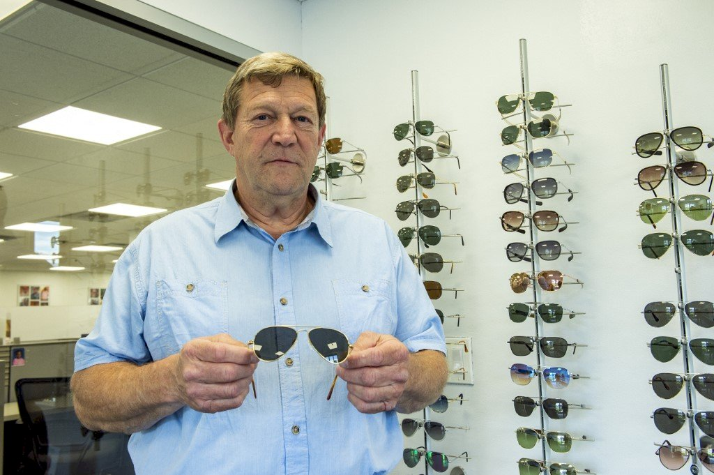 拜登贈蒲亭 美國手工精製飛行員太陽眼鏡