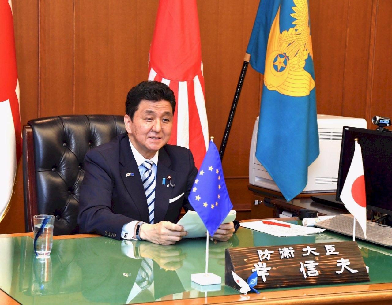 日防相籲歐盟合力抗中 重申台灣情勢穩定重要性
