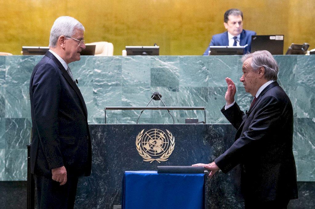 聯合國祕書長古特瑞斯獲續任 誓言記取疫情教訓