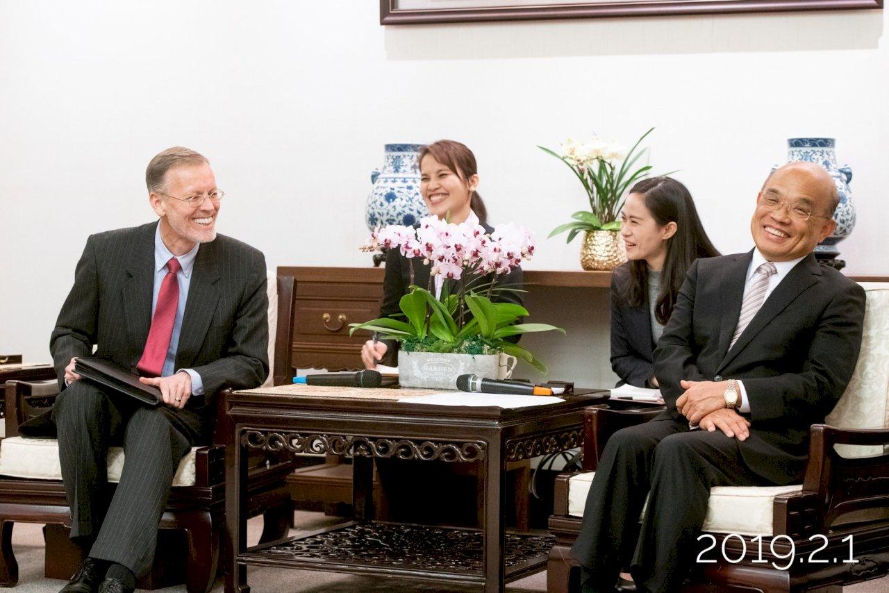 美國捐贈250萬劑疫苗 蘇貞昌:真心朋友幫你還會多加驚喜
