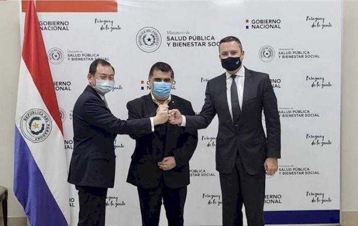 外交部:巴拉圭向聯亞生技關係企業購百萬疫苗(影音)