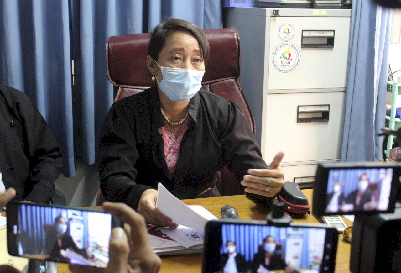 翁山蘇姬再出庭 接受煽動叛亂罪審判
