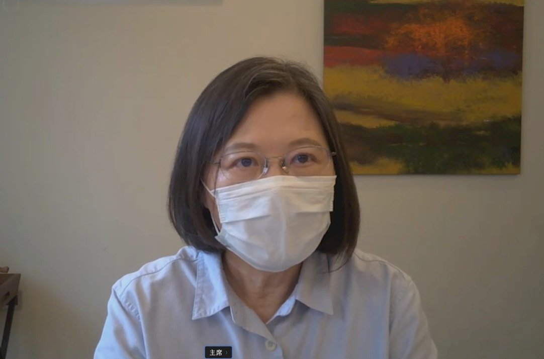三級警戒延長 蔡總統:疫情還沒結束 大家要保持警覺