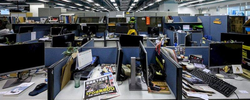 港蘋停刊  無國界記者組織:遭北京政權窒息而死