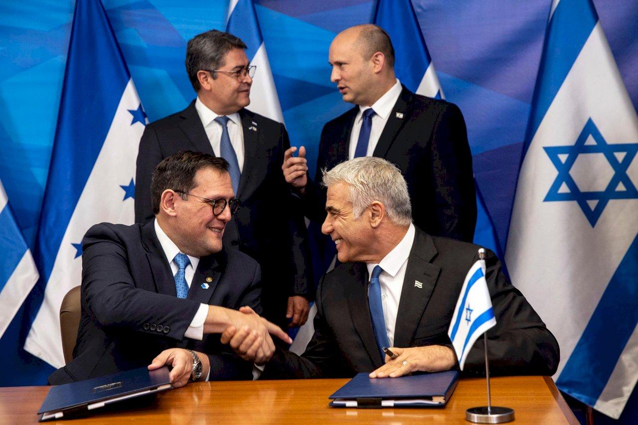 全球第4國 宏都拉斯駐以色列大使館遷至耶路撒冷