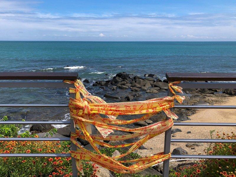 明起疫情降至二級 北海岸到東海岸依舊只能看海
