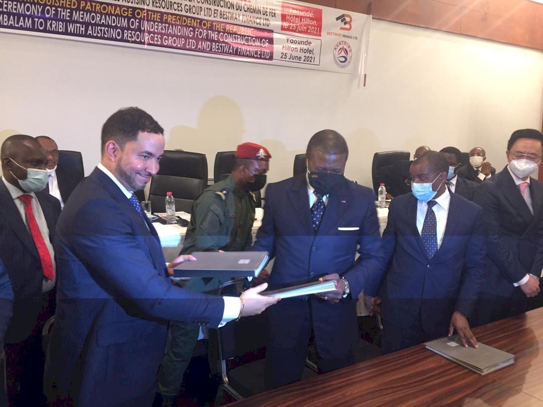喀麥隆與中企簽約 將建鐵路通往爭議鐵礦區