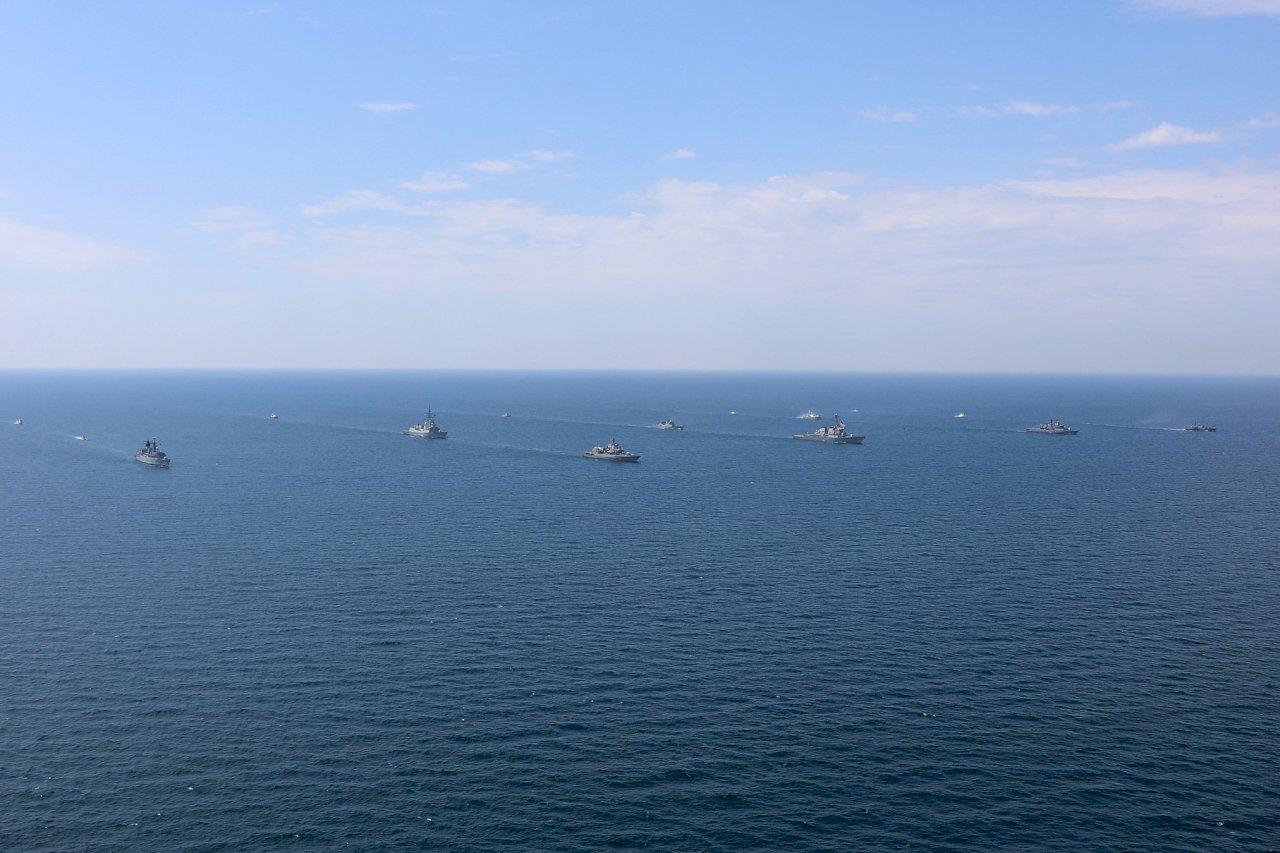 無視俄國抗議 烏克蘭聯合美國等30多國黑海軍演