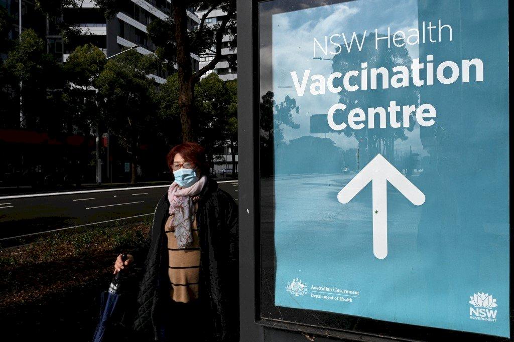 澳洲力拚七成疫苗覆蓋率 重啟生活目標不變