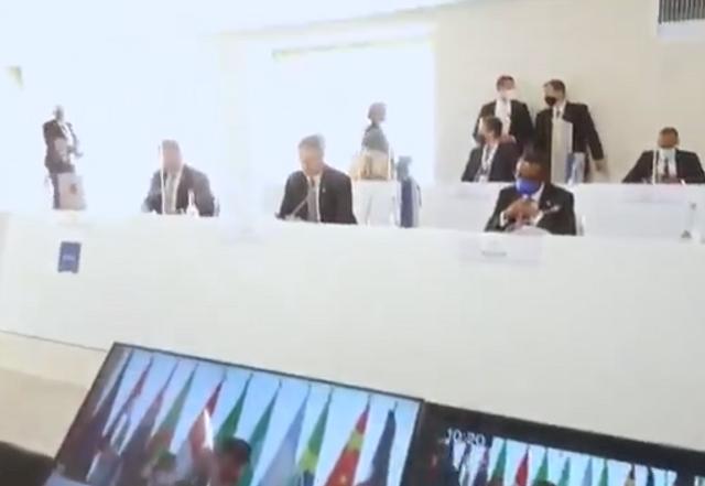疫情大流行以來 G20外長首次面對面會談