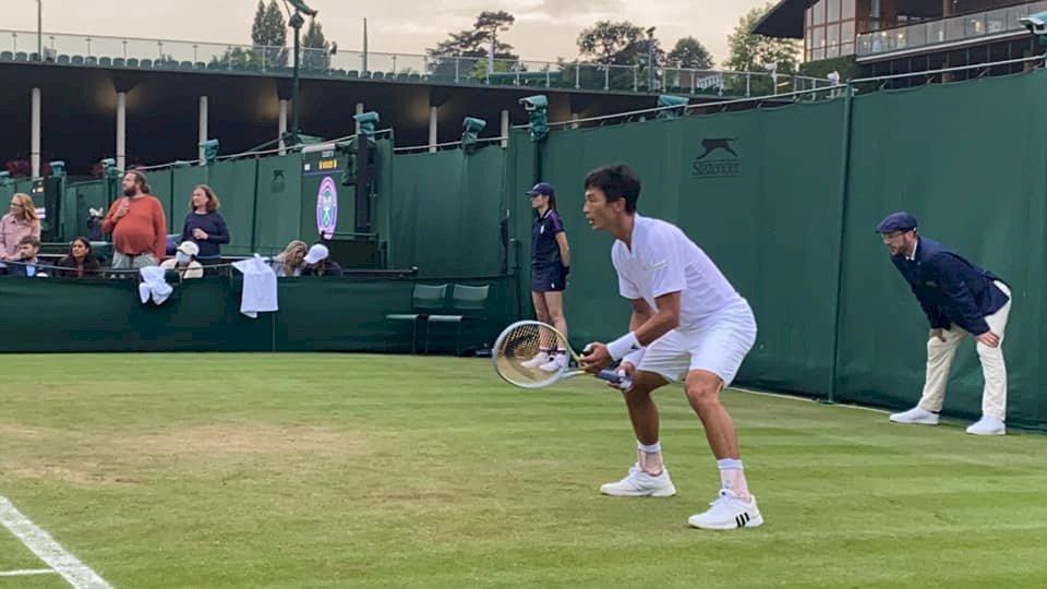 大滿貫生涯單打最終戰!盧彥勳輸球但不遺憾 溫網雙打明出賽
