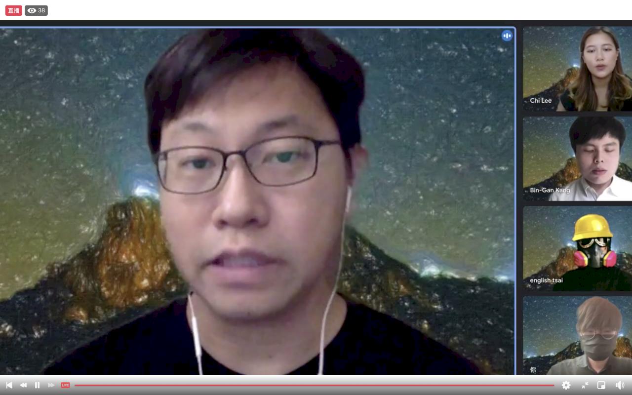 譴責中共毀香港 在台港人七一呼籲台灣援港