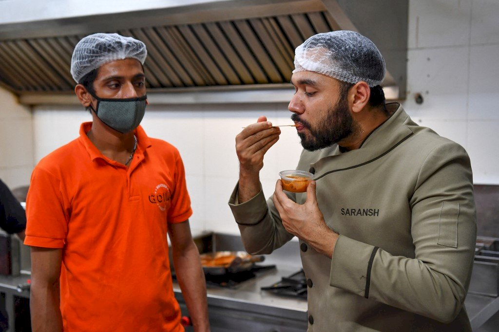 世界最棒的奶油雞 印度名廚疫情中暖心暖胃