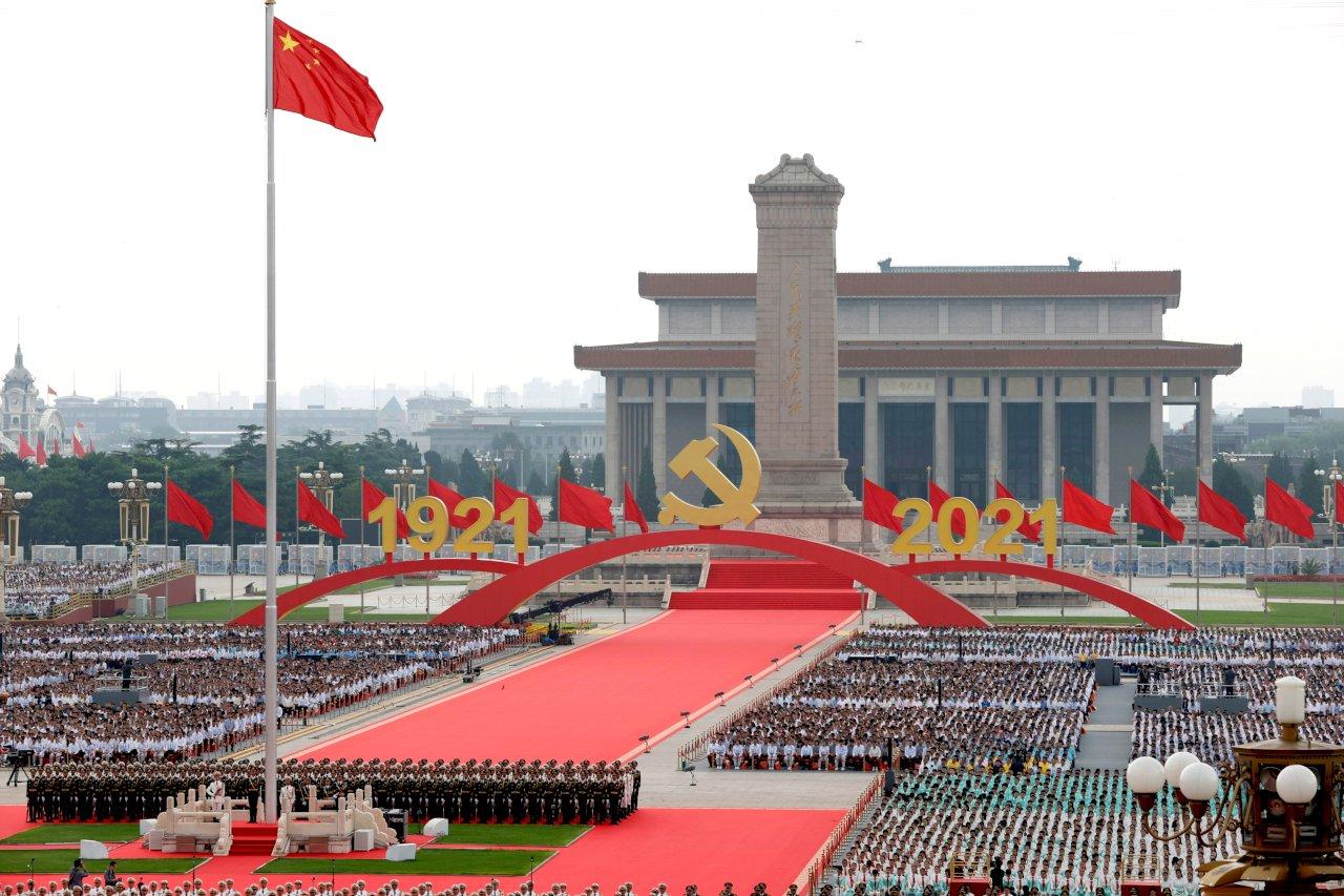 黨慶變國家慶典  中共百年大會與以往黨慶有何不同?