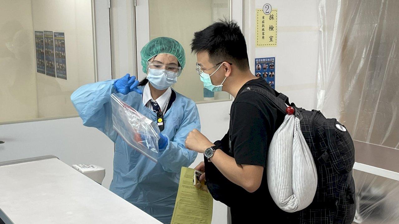 機場入境旅客全面PCR 松山、高雄今將篩檢百餘人