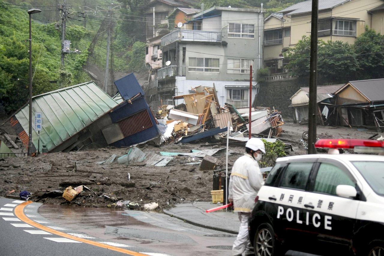 日本靜岡土石流 外交部:表達關懷未傳僑胞受災
