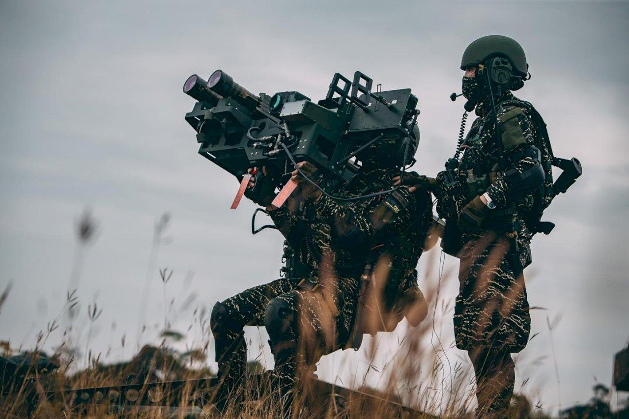 疫情下練兵 陸戰隊出動刺針飛彈守護天空