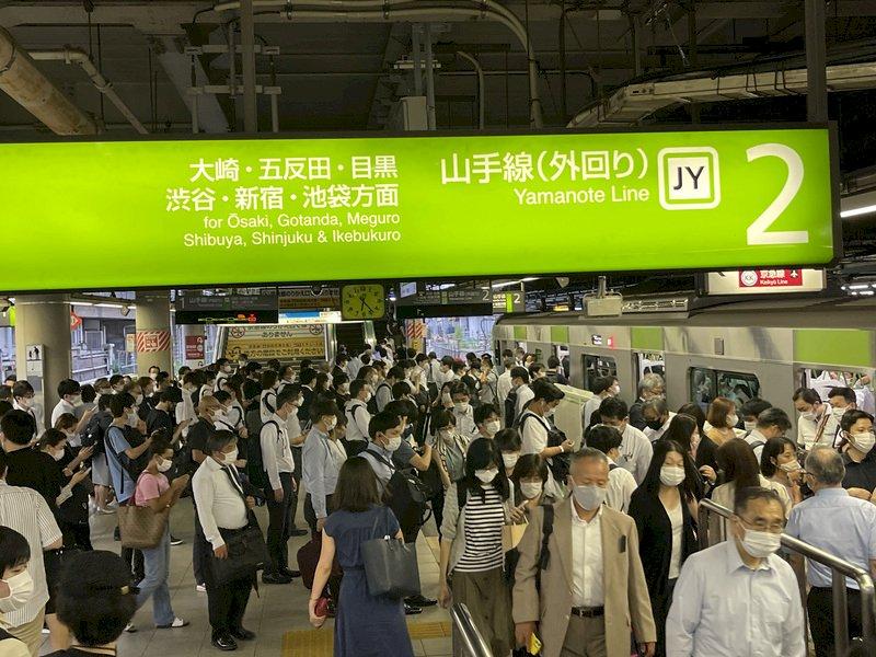 日本疫情單日新增1萬2342人 30多歲以下占逾7成