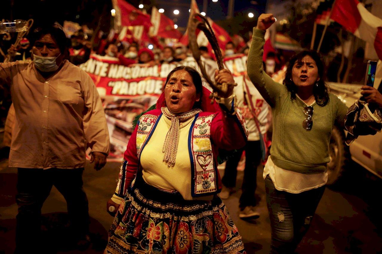大選結果難產 秘魯人示威要總統
