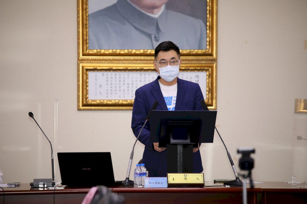 捍衛民權是憲法價值 江啟臣:政府不能以疫情為由沒收公投