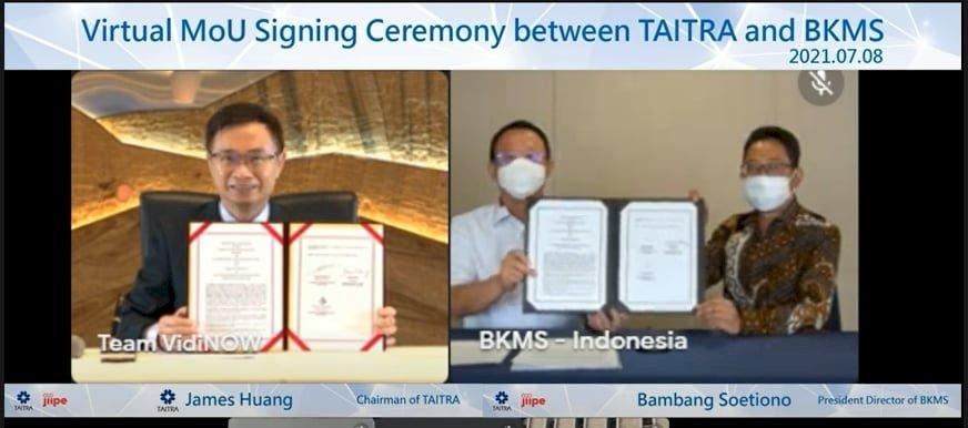貿協與印尼吉沛特區簽MOU 為台商搶先布局
